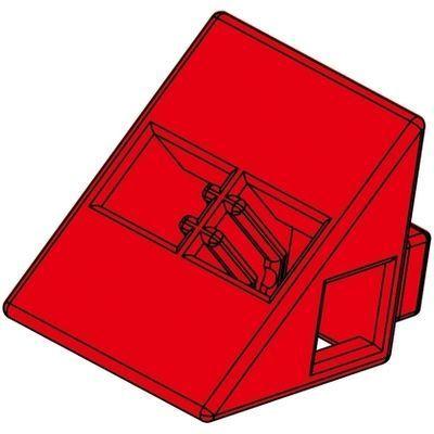 アーテック Artecブロック 三角A 8P 赤 ATC-77795