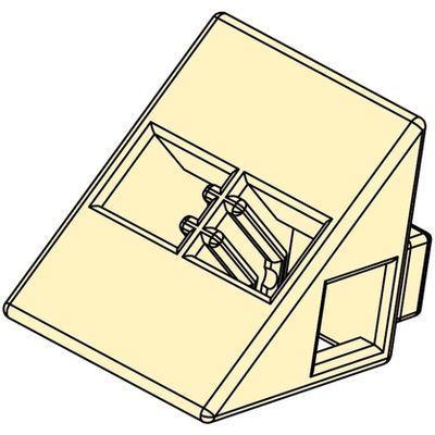 アーテック Artecブロック 三角A 8P 薄黄 ATC-77802