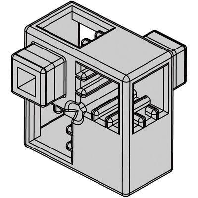 アーテック Artecブロック ハーフA 8P 薄グレー ATC-77771