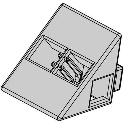 アーテック Artecブロック 三角A 8P 薄グレー ATC-77811