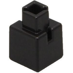 アーテック Artecブロック ミニ四角 20P 黒 ATC-77838