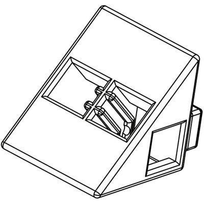 アーテック Artecブロック 三角A 8P 白 ATC-77813