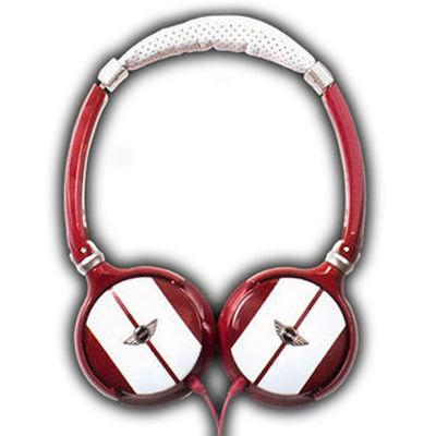 MINI  ミニ ステレオミニプラグ・ヘッドフォン [MINI HEADPHONES 814 RED REF・・・