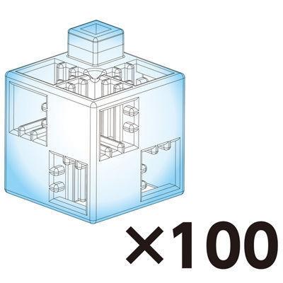 アーテック Artecブロック 基本四角 100P クリア ATC-77868