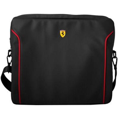 Ferrari フェラーリ 【13インチ ノートパソコン等】FIORANO - Black PU Leath・・・