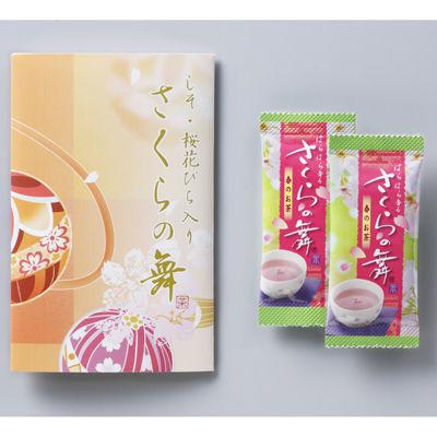 三盛物産 【100個セット】さくらの舞 [しそ入り桜花びら茶2g×2個] HL-1・・・