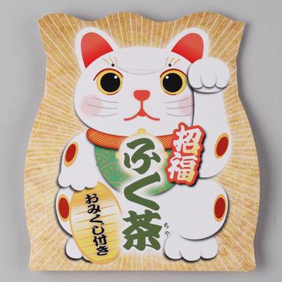 三盛物産 【100個セット】招福 ふく茶(煎茶) [煎茶ティーパック5g×3、おみく・・・