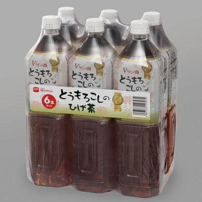 アイリスオーヤマ 【2個セット】とうもろこしのひげ茶1500ml 6本セッ・・・