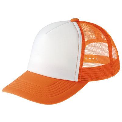 アーテック イベントメッシュキャップ オレンジ×ホワイト 302 ATC-3970・・・