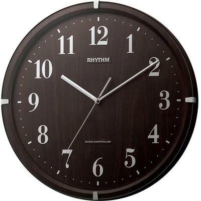 リズム時計 ライブリーアリス 8MY501SR06 濃茶