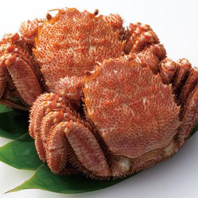 【北海道名産】北海道産 ゆで毛がに 大・2尾(N) 2尾(計約800g)、三杯酢、かに・・・