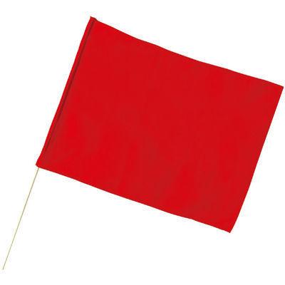 アーテック ●大旗(600x450mm)赤 丸棒φ12mm ATC-1817