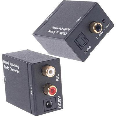 ランサーリンク デジタル-アナログ音声DAコンバータ 192Khz対応 DCT-3A_Black・・・