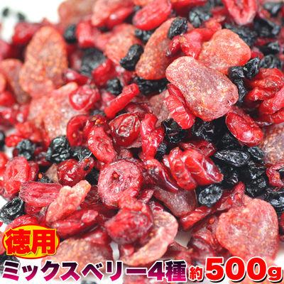 天然生活 徳用ミックスベリー4種500g SM00010196