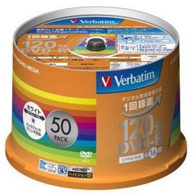 三菱化学メディア MITSUBISHI DVD-R(16X) 一回録画用 VHR12JP50V・・・