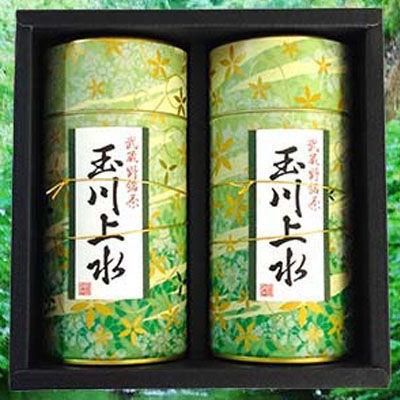 鈴木園 【のし・包装可】狭山茶「玉川上水」ギフト(草)100g×2(200g) SZK-T-1・・・
