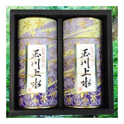 鈴木園 【のし・包装可】狭山茶「玉川上水」ギフト(紫)100g×2(200g) SZK-T-1・・・