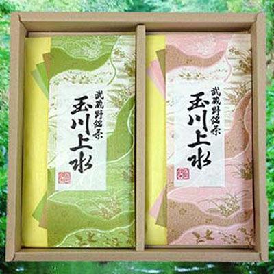 鈴木園 【のし・包装可】狭山茶「玉川上水」詰め合わせ(草・桃)100g×2(200g)・・・
