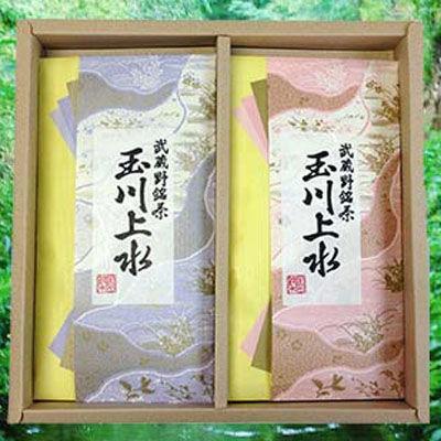 鈴木園 【のし・包装可】狭山茶「玉川上水」詰め合わせ(紫・桃)100g×2(200g)・・・