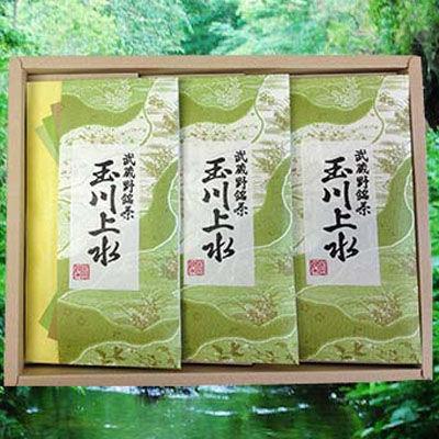 鈴木園 【のし・包装可】狭山茶「玉川上水」詰め合わせ(100g×3) SZK-T-・・・