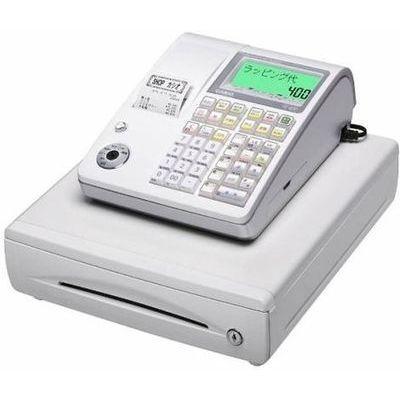 カシオ TE-400WE 電子レジスター (ホワイト) TE-400-WE