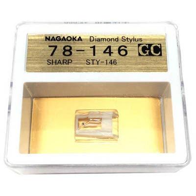 NAGAOKA レコード針 GC78-146