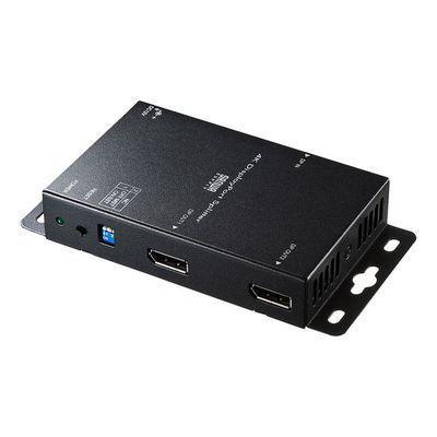 サンワサプライ 4K対応DisplayPort分配器(2分配) VGA-DPSP2