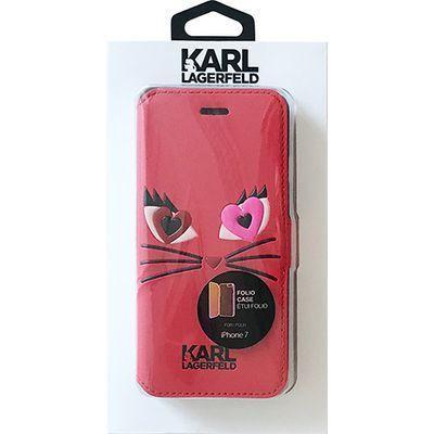 エアージェイ iPhone7専用シュペット in love PUレザー手帳型ケース KLFLBKP7・・・