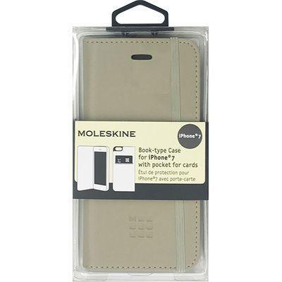 エアージェイ iPhone7専用ゴムバンド付エンボス加工手帳型ケース MOFLBKP7B・・・