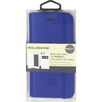エアージェイ iPhone7専用ゴムバンド付エンボス加工手帳型ケース MOFLBKP7RBL・・・