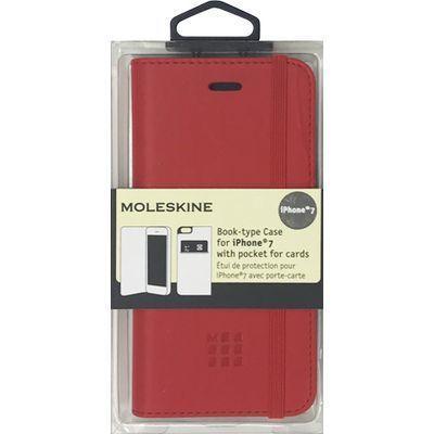 エアージェイ iPhone7専用ゴムバンド付エンボス加工手帳型ケース MOFLBKP7R・・・