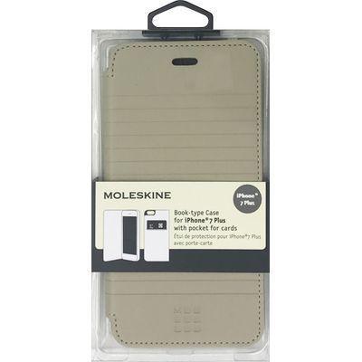 エアージェイ iPhone7 Plus専用エンボス加工手帳型ケース MOFLBKP7LDLB・・・