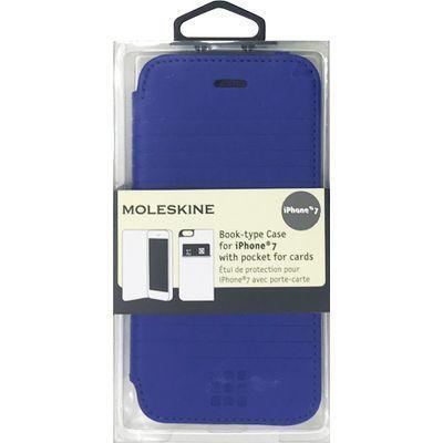 エアージェイ iPhone7専用エンボス加工手帳型ケース MOFLBKP7DLD・・・