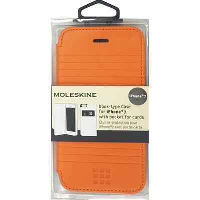 エアージェイ iPhone7専用エンボス加工手帳型ケース MOFLBKP7DLO・・・