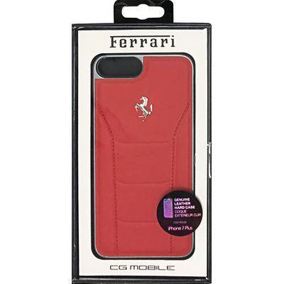 エアージェイ iPhone7 Plus専用シルバーロゴ本革ハードケース FESEHCP7LR・・・