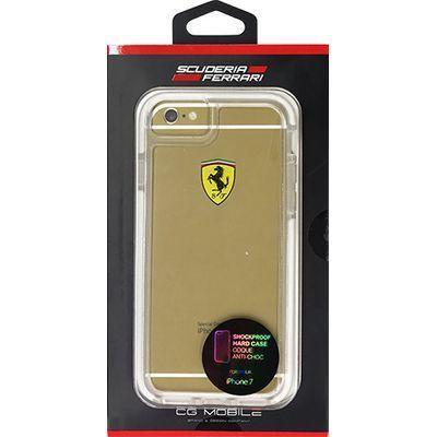 エアージェイ iPhone7専用耐衝撃クリアハードケース FEGLHCP7T・・・