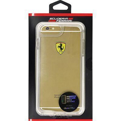 エアージェイ iPhone7 Plus専用耐衝撃クリアハードケース FEGLHCP7LT・・・