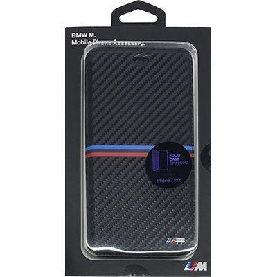 エアージェイ iPhone7 Plus/6 Plus/6s Plus対応カーボン調手帳型ケース BMFLB・・・