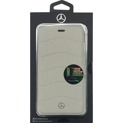 エアージェイ iPhone7 Plus専用本革手帳型ケース MEFLBKP7LCUSG・・・