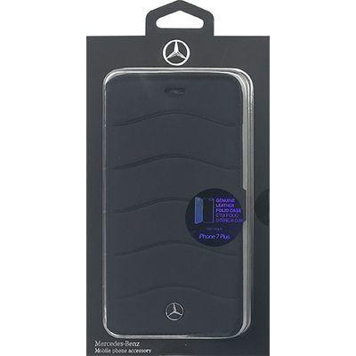 エアージェイ iPhone7 Plus専用本革手帳型ケース MEFLBKP7LCUSN・・・