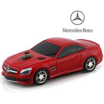 LANDMICE メルセデス ベンツ AMG 無線マウス 2.4G レッド BENZ-SL63AMG-RE レ・・・