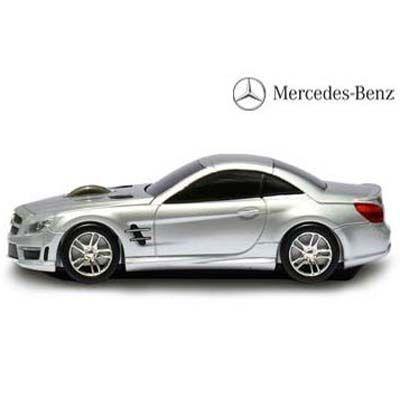 LANDMICE メルセデス ベンツ AMG 無線マウス 2.4G シルバー BENZ-SL63AMG-SL ・・・