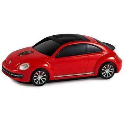 LANDMICE フォルクスワーゲン ビートル 無線マウス 2.4G レッド VW-BEETLE-RE・・・
