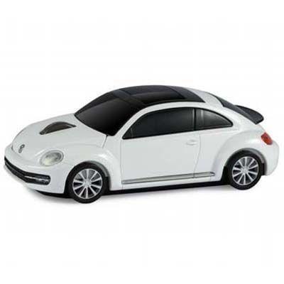 LANDMICE フォルクスワーゲン ビートル 無線マウス 2.4G ホワイト VW-BEETLE-・・・