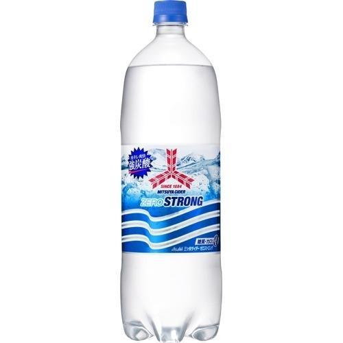 アサヒ飲料 【ケース販売】三ツ矢サイダー ゼロストロング 1.5L×8本 E496664・・・