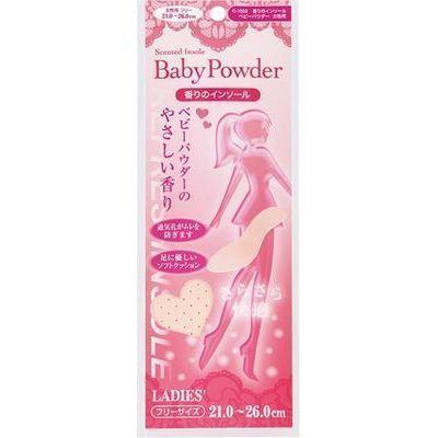 サナダ精工 香りのインソール ベビーパウダー 女性用 CN-1552 498432401552・・・