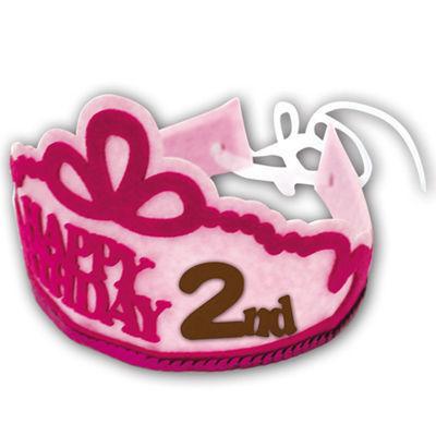 ノルコーポレーション メモリコ フェルトティアラ ピンク2 BDZ0302 ピンク・・・
