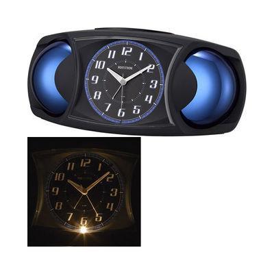 リズム時計 バトルMAX X 4RA482SR02 黒