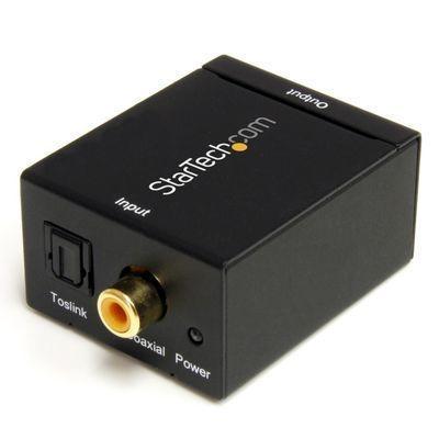 StarTech デジタル(光&同軸) - アナログ オーディオコンバーター変換器 入力・・・