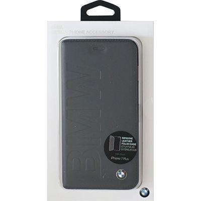 エアージェイ BMW iphone7plus用手帳型゙ケース ネイビー BMFLBKP7LLO・・・